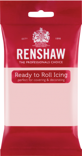 Ready to Roll Icing - Baby Pink