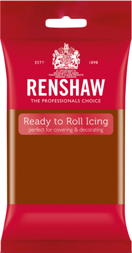 Ready to Roll Icing - Dark Brown