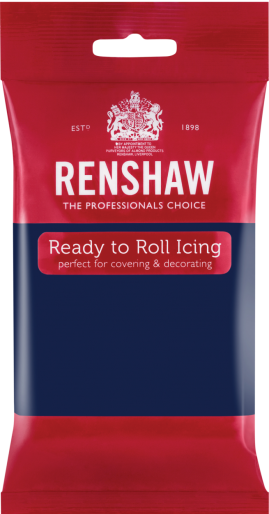 Ready to Roll Icing - Navy Blue