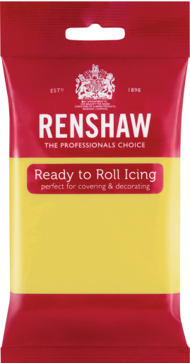 Ready to Roll Icing - Pastel Yellow