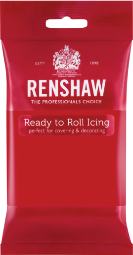 Ready to Roll Icing - Poppy Red