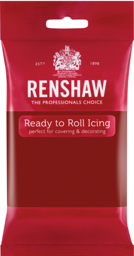 Ready to Roll Icing - Ruby Red