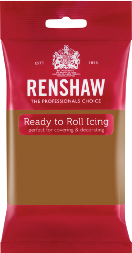 Ready to Roll Icing - Teddy Bear Brown
