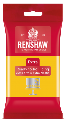 Extra Ready to Roll Icing - Yellow