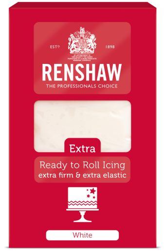 Extra Ready to Roll Icing - White