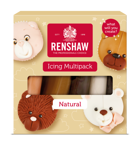 Ready to Roll Icing - Naturals Multipack