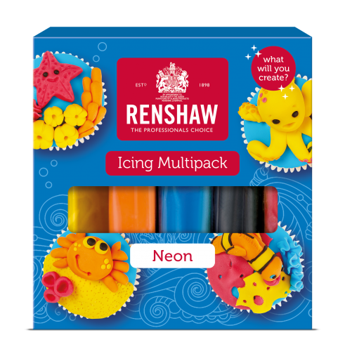 Ready to Roll Icing - Neons Multipack