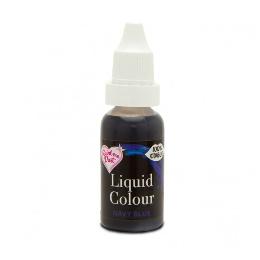 Liquid Colour - Navy Blue