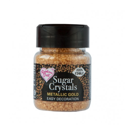 Sugar Crystals - Metallic Gold