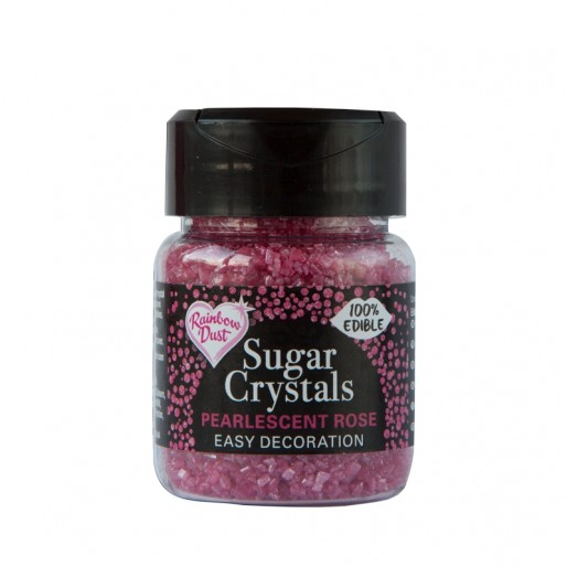 Sugar Crystals - Pearlescent Rose