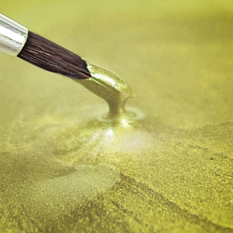 Paint metallic pearlescent yellow products for Metallic yellow paint