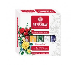 Flower & Modelling Paste Multipack - Essential Colours