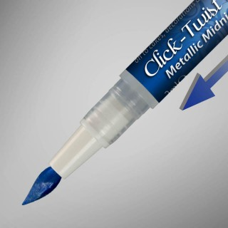Click-Twist Brush® - Metallic Midnight Blue
