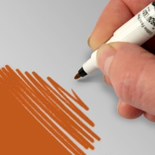 Food Art Pen - Orange