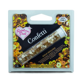 Confetti Sequins - Gold