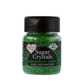 Sugar Crystals - Pearlescent Green