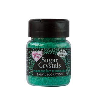 Sugar Crystals - Pearlescent Turquoise