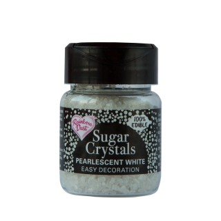 Sugar Crystals - Pearlescent White