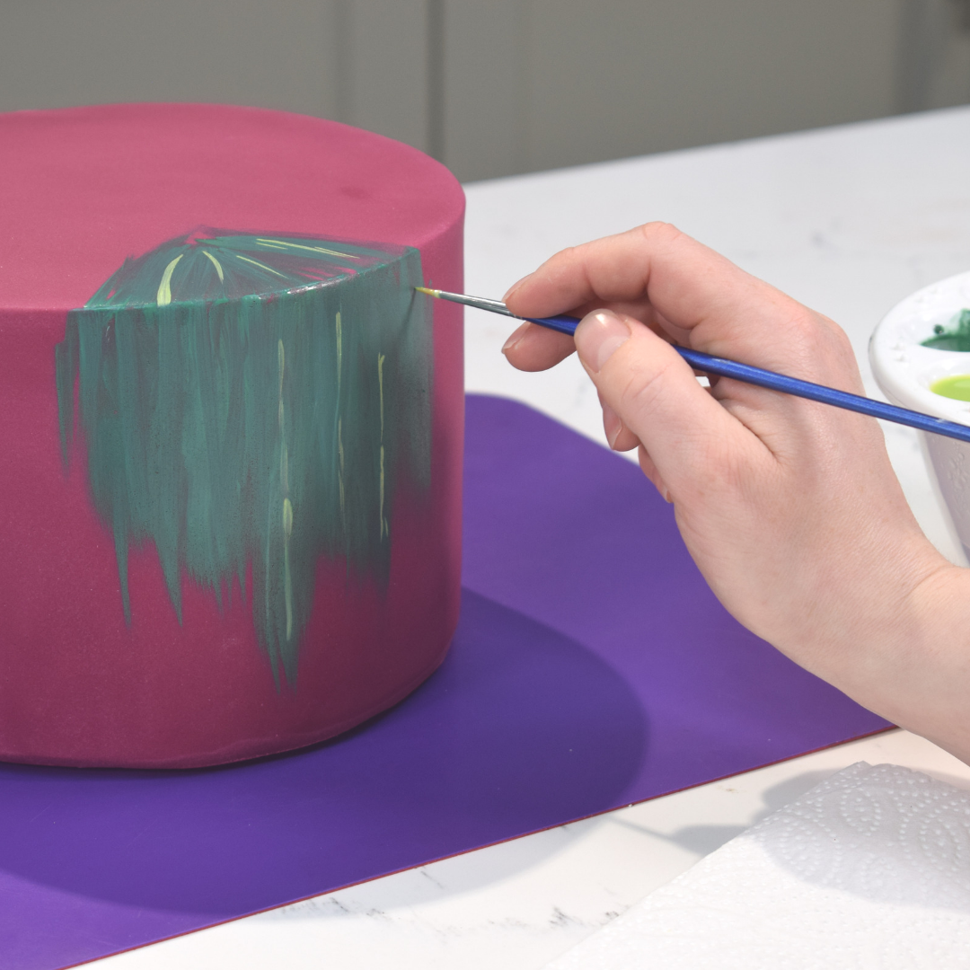 Painting with Powder Colour